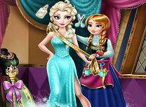 Anna designer de haine pentru Elsa