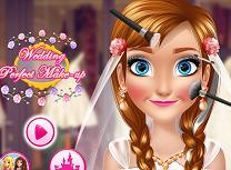 Machiaj de nunta pentru Anna