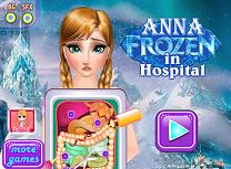 Anna Regatul de Gheata la Spital