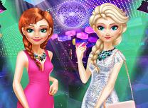 Anna si Elsa iesire in oras