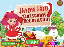 Baby Boo de pregatit pentru Craciun