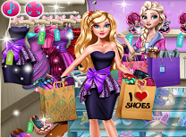 Barbie pasionata de cumparaturi