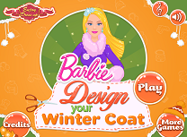 Barbie creeaza haine pentru Iarna
