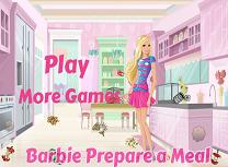 Pregatirea Mesei cu Barbie