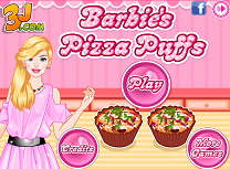 Barbie gateste pizza