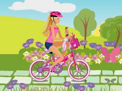 Barbie Cu Bicicleta
