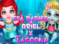 Bebelusele Ariel si Lagoona