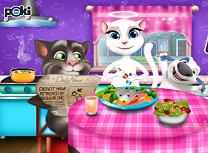 Tom si Angela cina impreuna