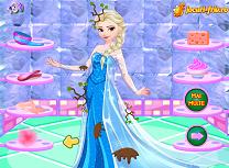 Elsa intr o zi ploioasa