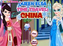 Elsa in Vizita in China