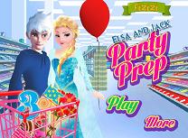 Organizarea petrecerii cu Elsa siJack