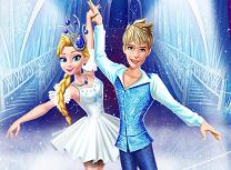 Elsa si Jack danseaza