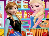 Elsa vanzatoare la magazin