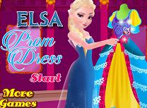 Elsa cauta rochia de bal