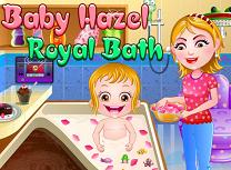 Bebelusa Hazel la baie