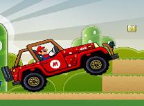 Mario cu super masina