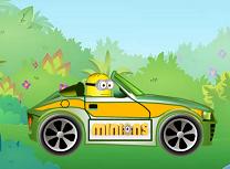 Minionul cu super masina