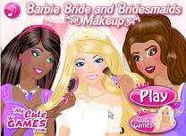 Barbie mireasa si domnisoarele de onoare