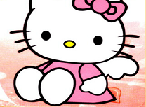 Puzzle cu Hello Kitty