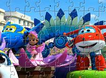 Puzzle cu Jet si prietenii