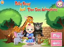 Rosy Merge la Zoo cu Tom