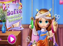 Sofia ranita in spital
