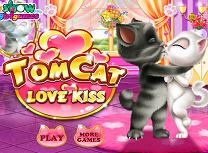 Tom si Angela saruturi