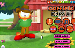 Garfield Dress Up