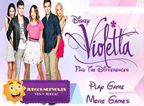 Gaseste Diferentele Violetta