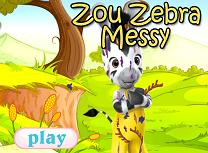 Zouu Zebra trebuie curatata