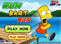 Familia Simpson Bart la La Alergat